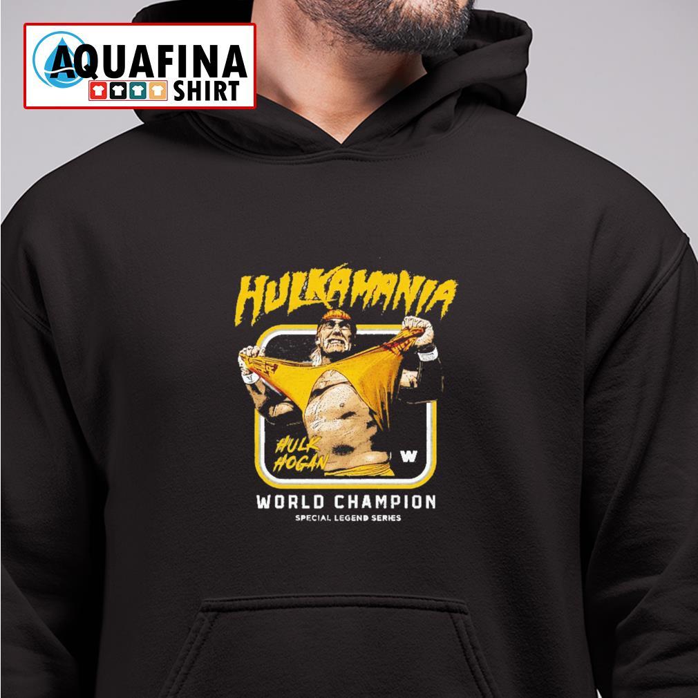 Hulk Hogan Hulkamania World champion hoodie