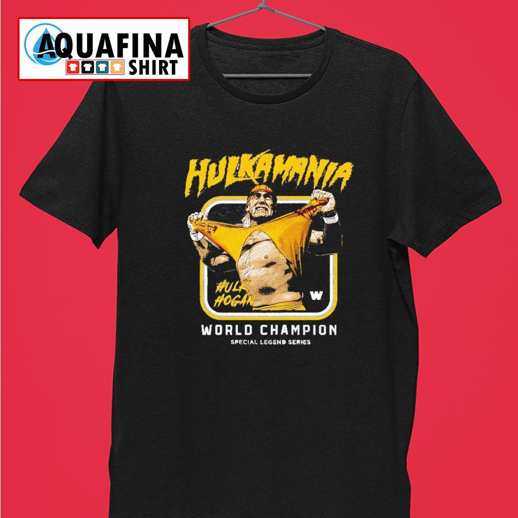 Hulk Hogan Hulkamania World champion shirt
