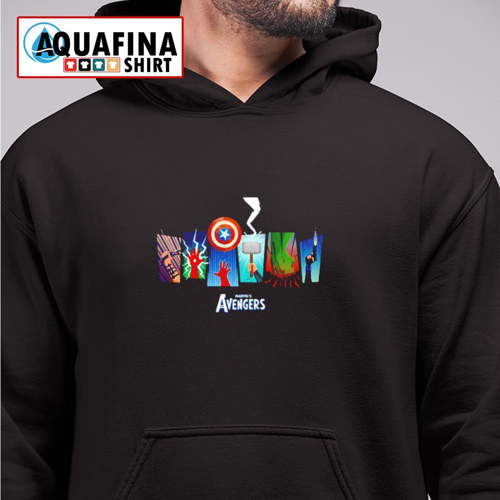 Marvel's Avengers 2021 movies fan hoodie